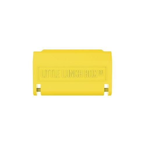 Little Lunch Box - Bento Latch - Yellow (Faces & Superhero)