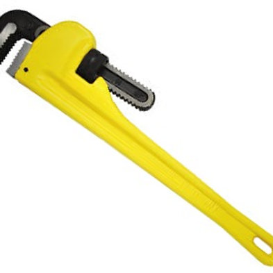 "STANLEY ALUM PIPE WRENCH 14"" 84-465S"