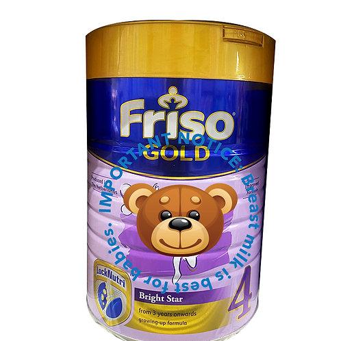 Friso Gold Growing Up Milk Formula - Stage 4 (900g)