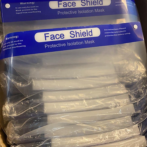 Face Shield Protective Isolation Mask (1PCS)