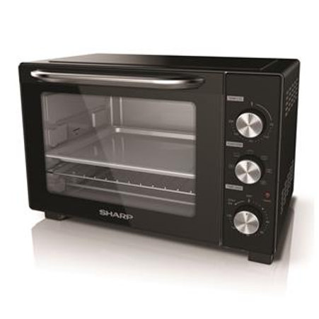 Sharp 38LT Oven Toaster - EO-387R-BK