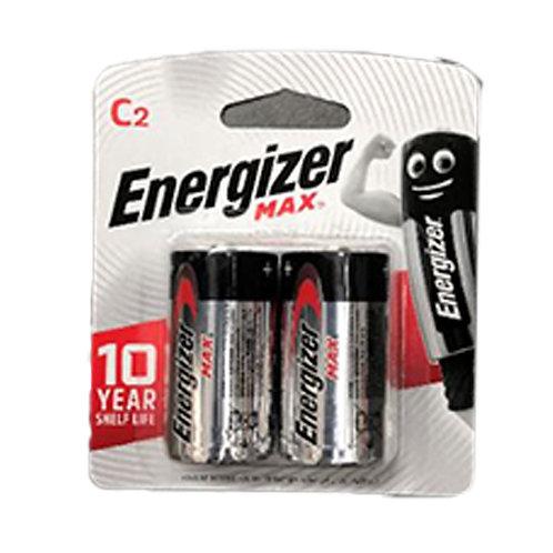 Energizer Alkaline Battery - Max (C) 2 per pack