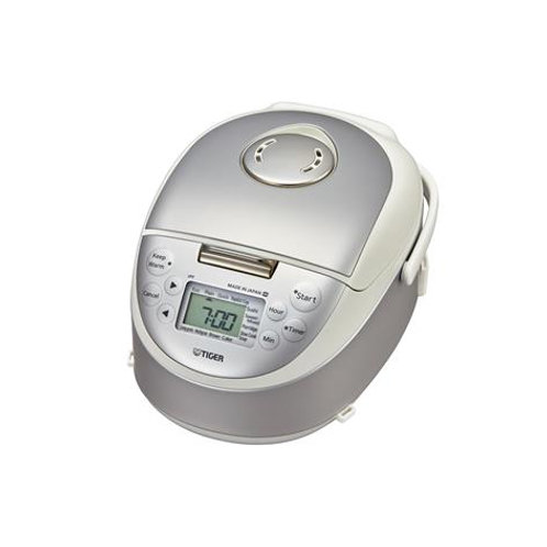 Tiger 0.5L Ih Rice Cooker - Satin White - JPF-A55S(W)
