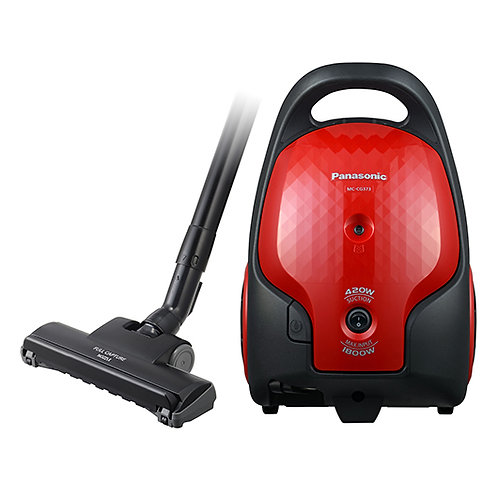 Panasonic 1800W S/P 420W Vacuum Cleaner Red  - MC-CG373R647