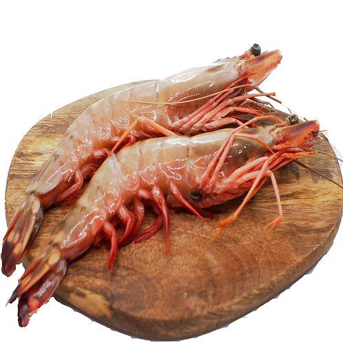 Vanamei Live Frozen prawns 16-20pc (2 portion)