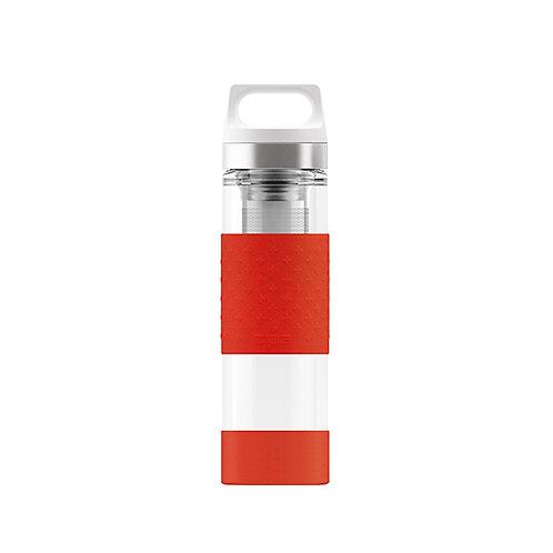 Sigg H & C Glass Red 400ml Glass Bottle  - 8555.9