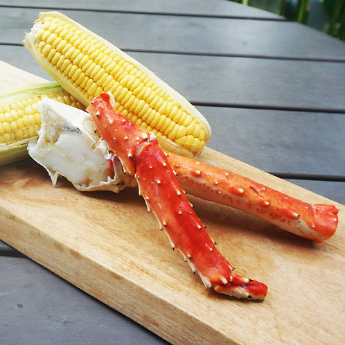 Cooked King Crab 260g-300g Russia (Jumbo Leg) (2 portion)