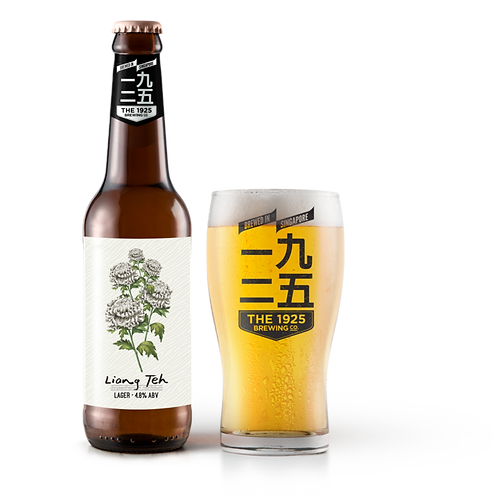 THE 1925 BREWING CO. - LIANG TEH LAGER (24 x 330ml)