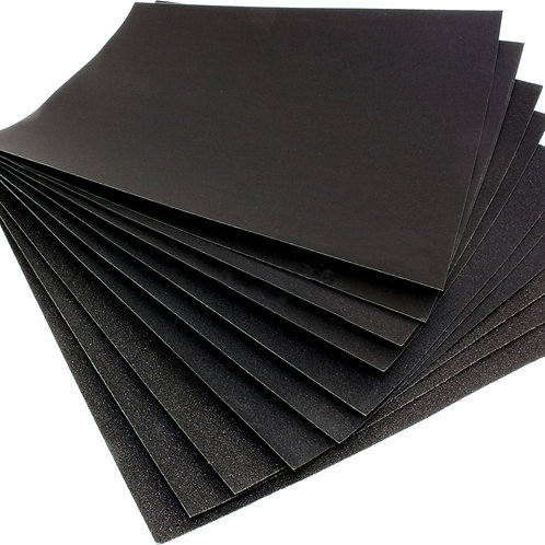 "HAWK WATERPROOF SANDPAPER 9""X11""XG1200 5PCS"