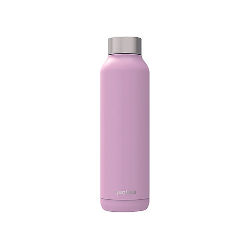 QUOKKA STAINLESS STEEL BOTTLE SOLID LILAC 630 ML