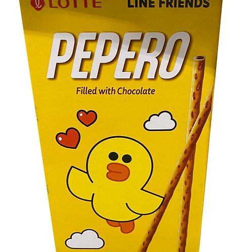 Lotte Pepero Stick Biscuits - Choco Filled 50g