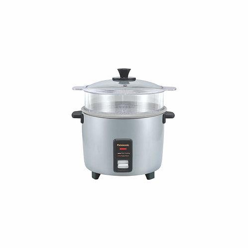 Panasonic 1.8LT Rice Cooker With Steam Basket (Silver) - SR-Y18FGELSH/RSH