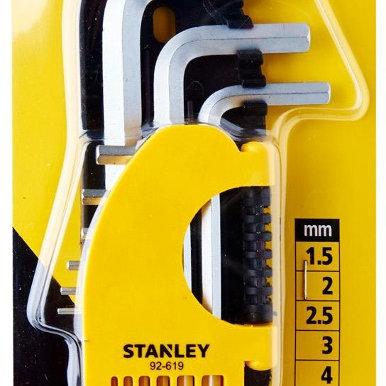 STANLEY 9PCS LONG HEXA KEY [1.5-10MM] STMT92619-8