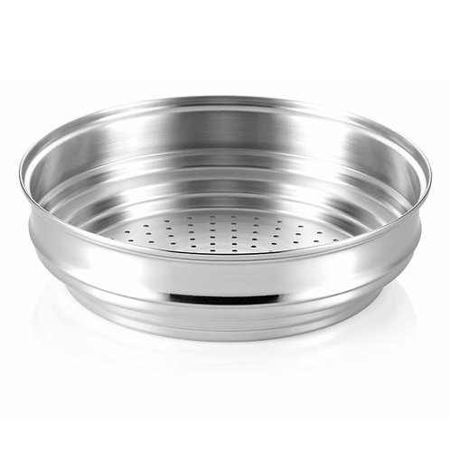 Happycall 28Cm Stainless Steel Steamer For Alumite Series - 3800-1003