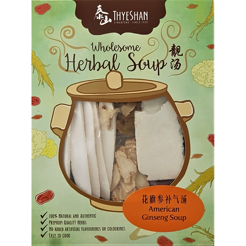 American Ginseng Soup