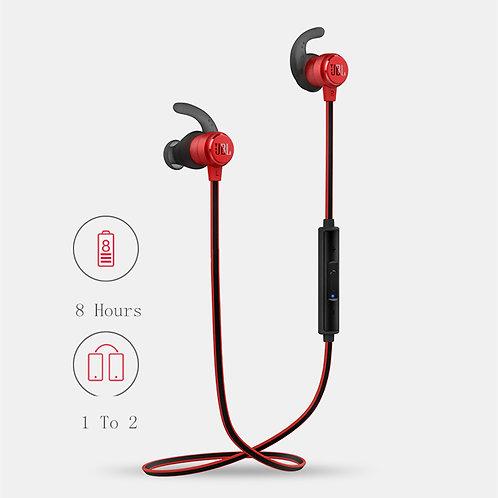 JBL T280BT Wireless Bluetooth Earphone Headset (Red)