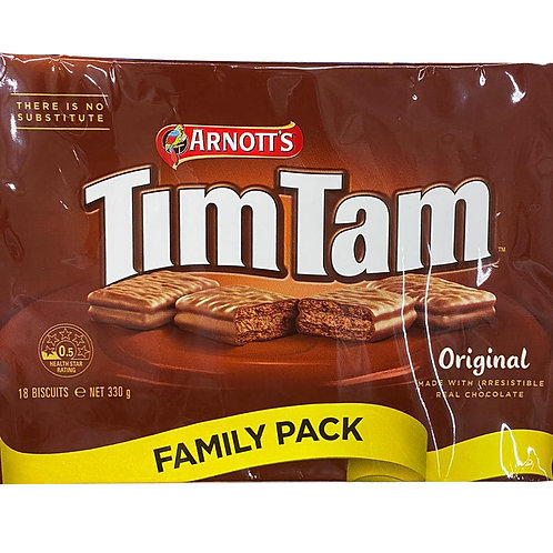 ARNOTT'S Tim Tam Original - Family Pack 330g