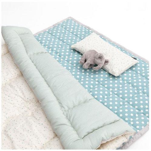 Lolbaby 100% Premium Cotton Bedding Set - Milky Way Green