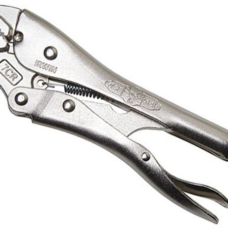 IRWIN VISE GRIP PLIER CURVED JAW 7CR (10508018)