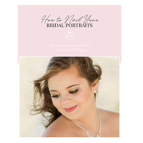 How to Nail Your Bridal Portraits Mini Guide Template
