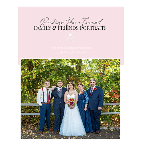 Rocking Your Formal Family & Friends Portraits Mini Guide Template