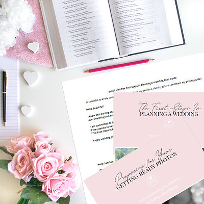 Pre-Wedding Templates (Mini Guides & Email)