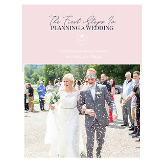 The First Steps in Planning Your Wedding Mini Guide Template