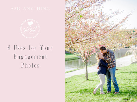 8 Uses for Your Engagement Photos