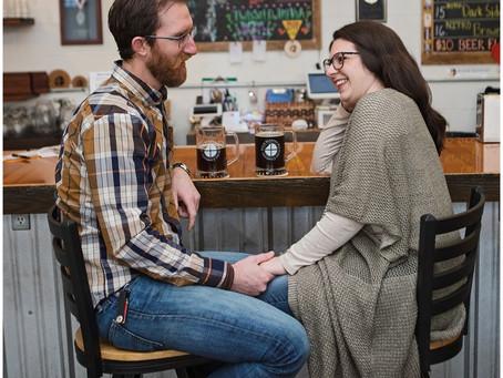 A Four Seasons Brewing Company, Latrobe PA E-Shoot With Justin & Emily