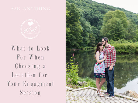 What to Look For When Choosing a Location for Your Engagement Session