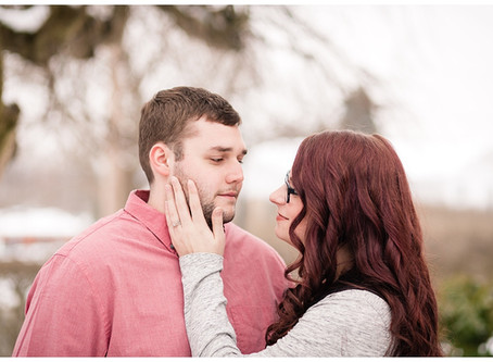 An Engagement Session in Somerset, PA with Sean and Allison