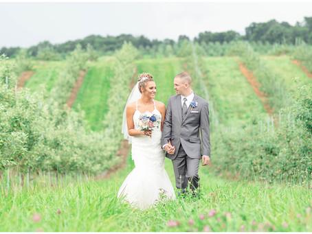 Mr. & Mrs. Thomas-A West Oaks Farm Market, Winchester Virginia Wedding