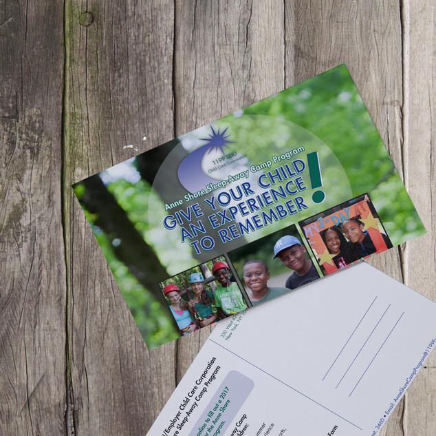 CCC Summer camp postcard