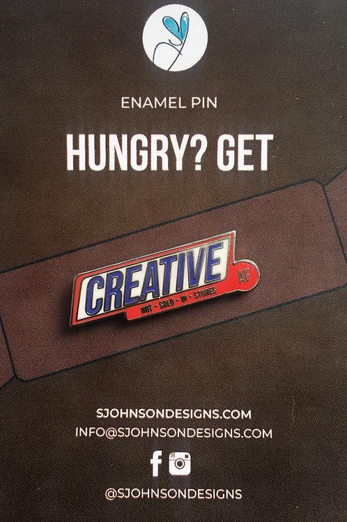 Creative AF Enamel Pin