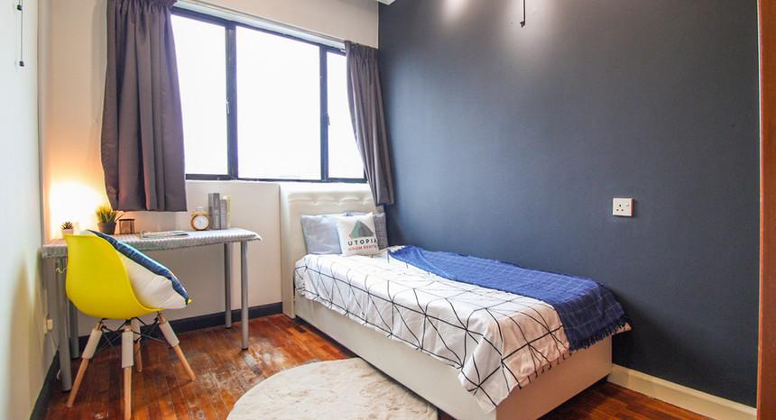 Medium Room With Single Bed
