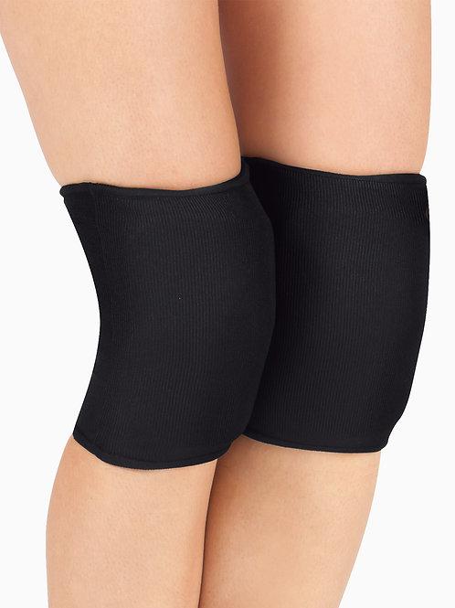 Adult Black Knee Pads for Dancers, Black