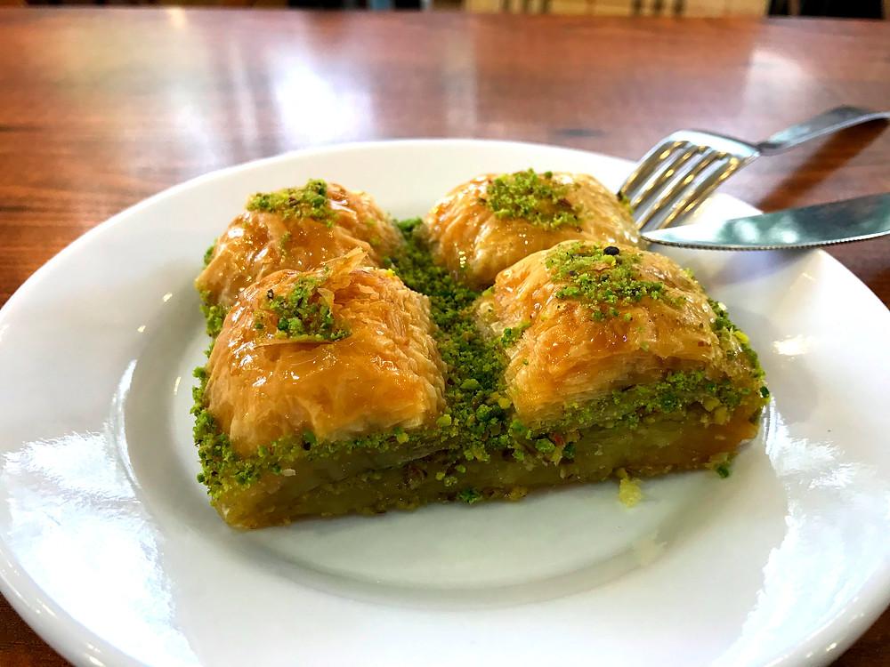 Baklava for breakfast