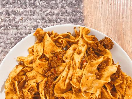 Cultural Cuisine: Tagliatelle alla Bolognese