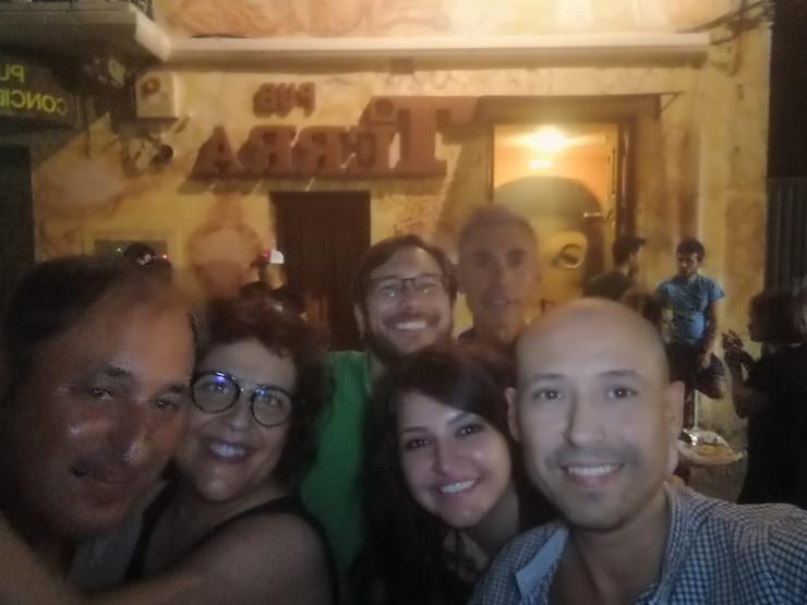 a group selfie