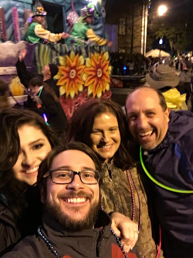 Pre-Mardi Gras in New Orleans, Lousiana