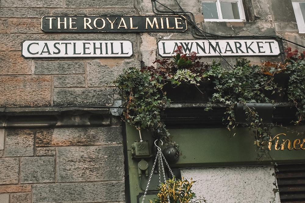 walking The Royal Mile