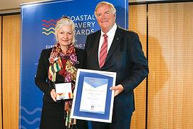 Louise Anderton & Governor Kim Beazley A