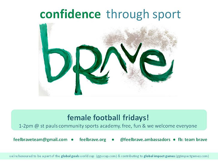 Team Brave poster_female football 2019 (