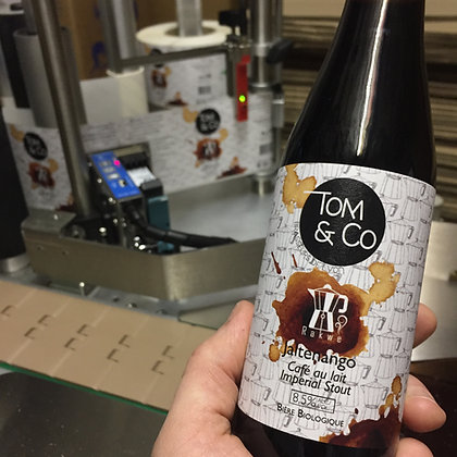 """Jaltenango """"Café au lait"""" Imperial Stout (Noire) - 8,5%"""