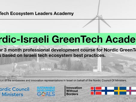 Inviterer til gratis nettbasert GreenTech Academy