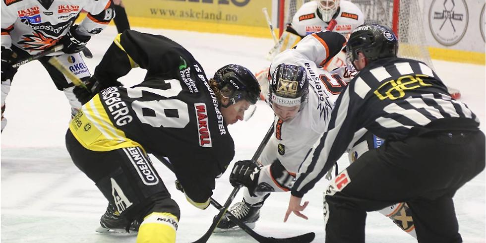 Norsk olje og gass og hockeykamp