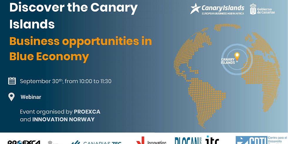 Webinar: Introduction to business opportunities in the Canary Islands