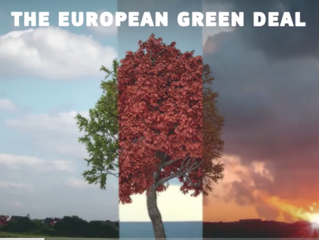 Green Deal for et klimanøytralt Europa i 2050