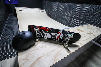 BHLC 1st indoor mini ramp skate school
