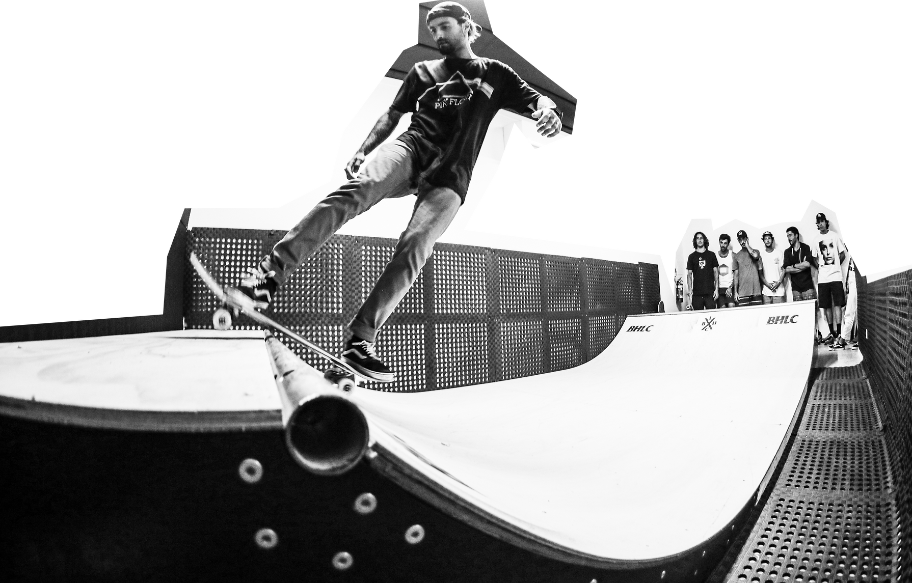 BHLC Skating mini ramp language school